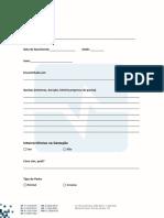 Anamnese fonoaudiologia pediátrica