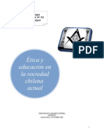 ETICA Y EDUCACION CHILENA - PLANCHA JC