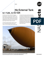 NASA Facts Space Shuttle External Tank ET-128 STS-124