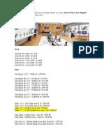 Precios de productos Apple en las tiendas iStore en Lima