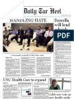 The Daily Tar Heel for April 15, 2011
