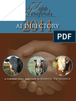 Topp Herefords AI Directory 2011