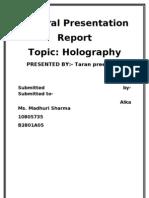 Report-holo