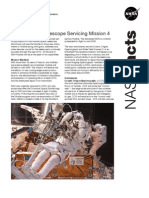 NASA Facts Hubble Space Tellescope Servicing Mission 4