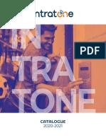 Catalogue Intratone 2020-2021
