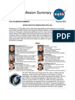 STS-130 Mission Summary