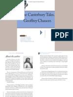 Geoffrey Chaucer 1380-1400 [Canterbury Tales]