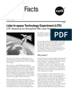NASA Facts Lidar in-Space Technology Experiment (LITE)