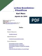 Manuscritos Econômico-Filosóficos, de Karl Marx