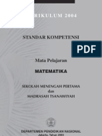 MTK SMP (Sistem Kbk)