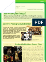 Visual Arts Club March Newsletter