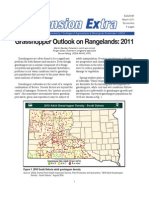 Grasshopper Outlook on Rangelands 2011