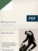 Bottega Veneta Presentation