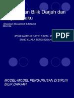 TOPIK 4 BANDING BEZA MODEL DISIPLIN