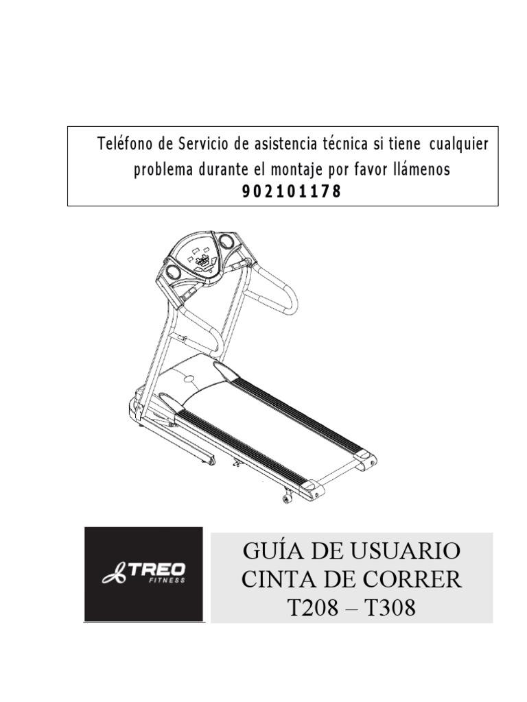Circuito Quemagrasas : Manual horizon t208 308