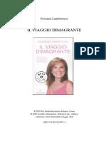 Rosanna Lambertucci - Il viaggio dimagrante (2009, Mondadori)