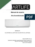 Manual Aire Acondicionado Smartlife