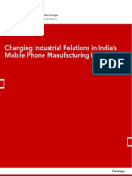 changing industrial relations in India