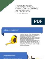 INSTRUMENTACION, AUTOMATIZACION Y CONTROL DE PROCESOS - Rosmer Castillo
