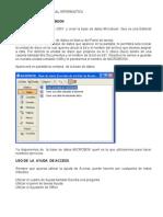 Ejercicio Base de Datos Microbook