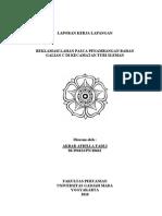 Laporan Kerja Lapangan (Reklamasi Bahan Galian C (Pasir)  (Akbar A.F)