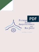Cartilha Patrimônio Sacro Arquitetônico do Rio Jacuí