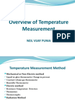 Temperature Measurement Methods