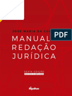 Toaz.info Manual de Redaao Juridica Jose Maria Da Costa 6 Ed 2020pdf Pr 15f0862d89d6894b657a6cf38b14d97e