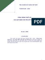 31TCXDVN 285_2002 quy dinh ve thiet ke CT thuyloi