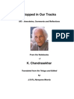 UG Krishnamurti - Stopped in Our Tracks - Series 2