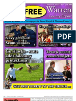 The Late April, 2011 edition of Warren County Report
