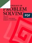 Davidson Sternberg The Psychology of Problem Solving 2003