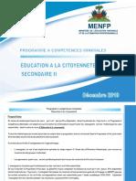 Education a La Citoyennete NS II