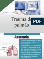 Trab - Trauma de pulmão