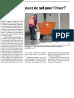2010.11_Revue de presse - interpellation pénurie de sel