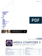 Media Composer 5 Keyboard Shortcut Guide