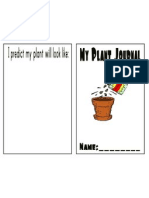 plant recording journal