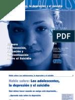 DEPRESION Y SUICIDIO EN ADOLESCENTES