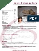 Pressé de foie gras de canard aux figues par Arnaud Nicolas