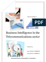 BI in the Telecomm Industry