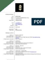Curriculum Vitae Fabio Russo