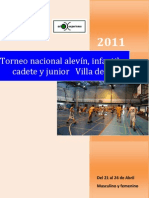 Dossier 2011 Torneo Oliva Para Equipos