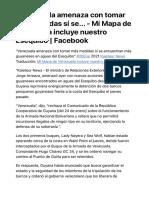 venezuela represalias