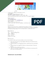 multimedia course outline