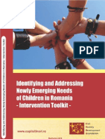 Identifying and Addressing Newly Emerging Needs of Children in Romania-Intervention Toolkit