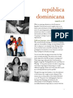 Dominican Republic 2011 Journal