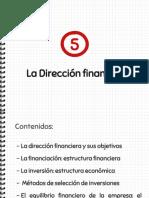 T5.La dirección financiera