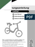 PUKY Balance Bike Manual