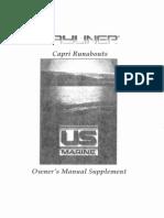 1999 Capri - Owners Manual