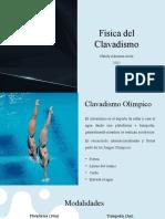 Física del Clavadismo. Nataly Almanza